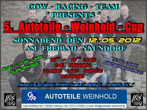 Cow-racing-flyer Weinhold Cup Freiberg